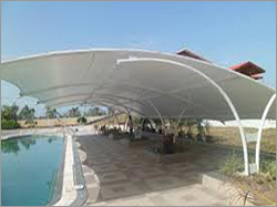 Swimming Pool Tensil Structure