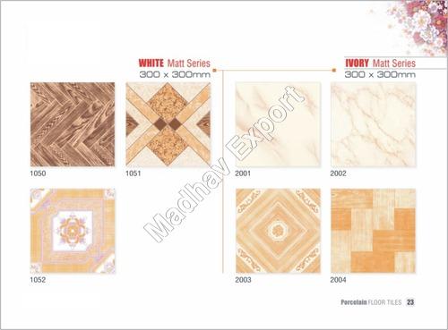 Ceramic Floor Tiles Ivory Series