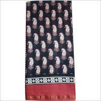 Bagru Print Chanderi Saree