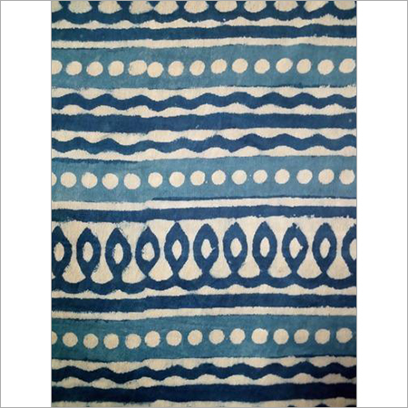 Indigo Blue Exclusive Designer Fabric
