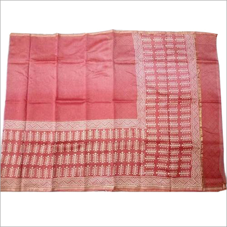 Discharge Printed Saree
