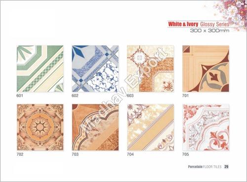 Any Color Designer Ceramic Floor Tiles