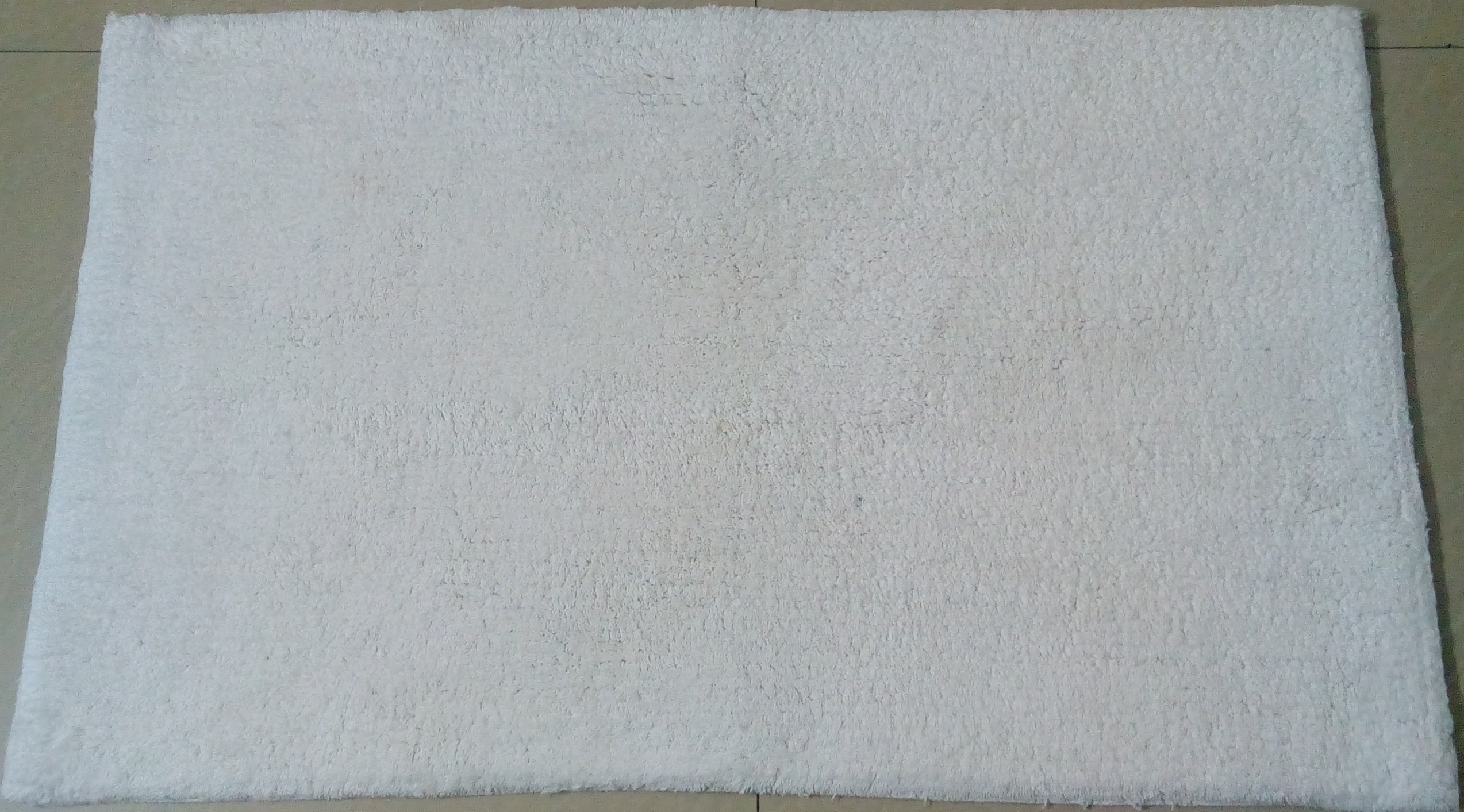 Anti Slip Rubber Cotton Bath Rug