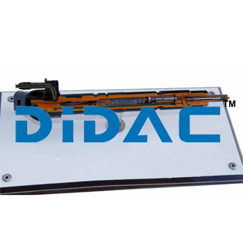 Piezo In Line Injector Cutaway