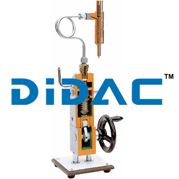 Single Cylinder Injection Pump Cutaway