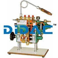 Four In Line Cylinders Injection Pump With Pneumatic Speed Governor Cutaway