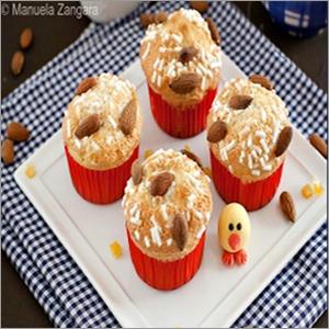 Egg Free Vanilla Muffins