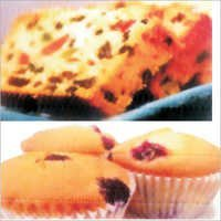 Eggless Vanilla Fruit Cake Muffin Premix