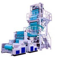 Two Layer Blown Film Extruder Machine
