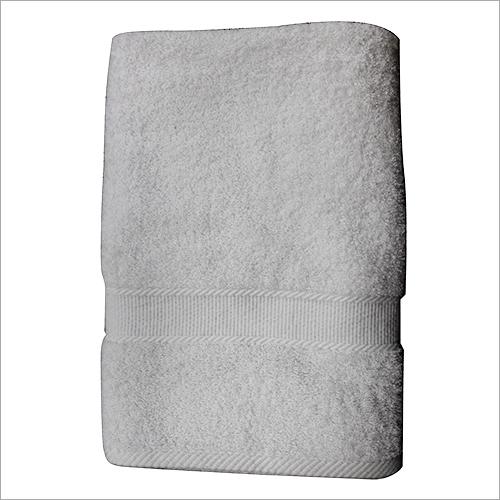 White Bath Hotel Towel
