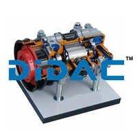 Vane Compressor Cutaway