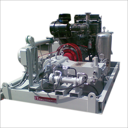 Diesel Engine Driven Hydrostatic Pressure Test Pump