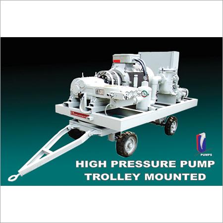 Trolley Mounted High Pressure Pump