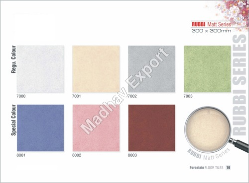 Ceramic Matt Floor Tiles