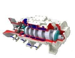 Screw Type Dry Vacuum Pump