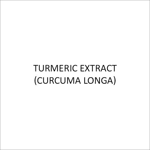 Turmeric Extract (Curcuma Longa)