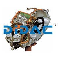 FWD Five Speed Manual Gearbox With Differential Cutaway