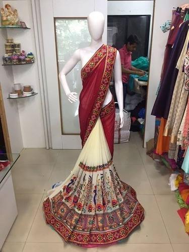 Fancy Designer Exclusive Stylish Heavy Work Saree