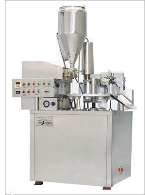 Semi Automatic Tube Filling Machine