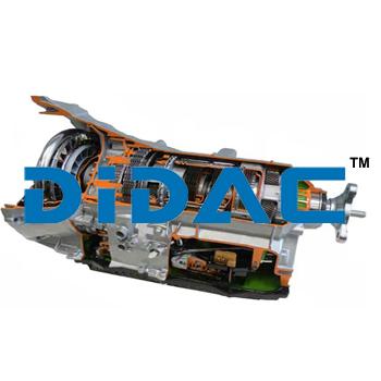 RWD Eight Speed Automatic Transmission Cutaway