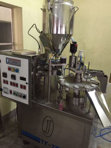 Automatic Cyanoacrylate Filling and Sealing Machine for Aluminium Tubes
