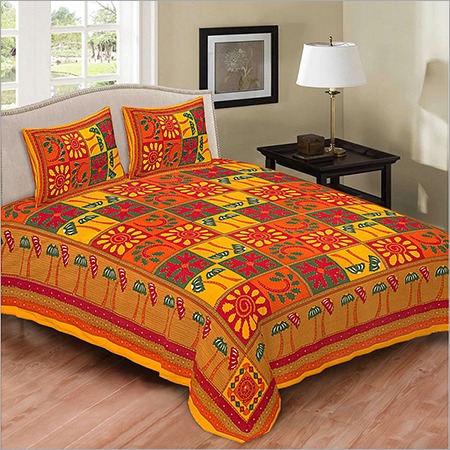Double Kantha Bed Sheet