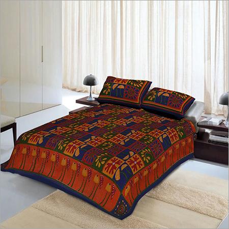 Double Set Kantha Bedspread