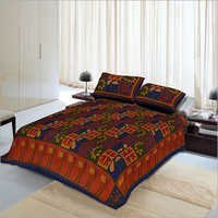 Double Set Kantha Bedspread