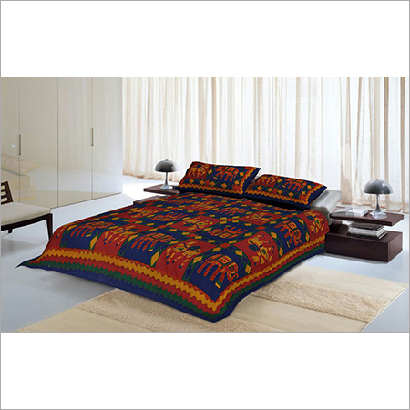 Kantha Handloom Bed Sheets