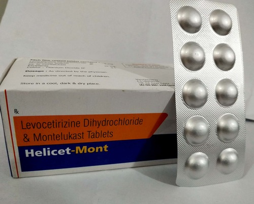 Levocetrizine 5 MG + Montelukast 10 MG