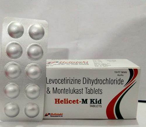 Levocetrizine 2.5 MG + Montelukast 4 MG