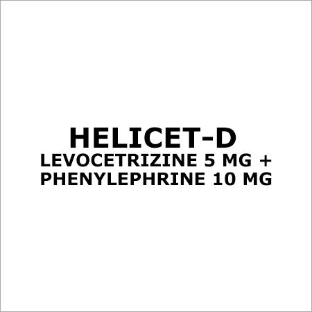 Levocetrizine 5 MG + Phenylephrine 10 MG
