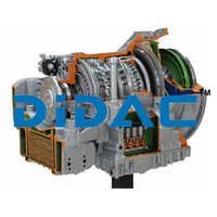 HGV Automatic Five Speed Gearbox Cutaway