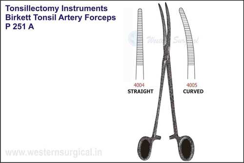 Birkett Tonsil Artery Forceps