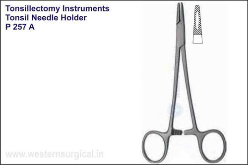 Tonsil Needle Holder S.S