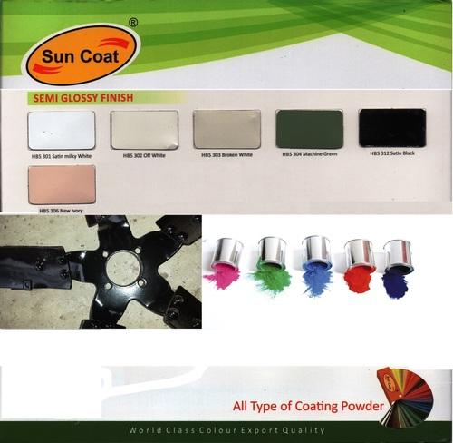 Semi Glossy Finish Coating Powder