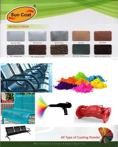 Metallic Finish Coating Powder