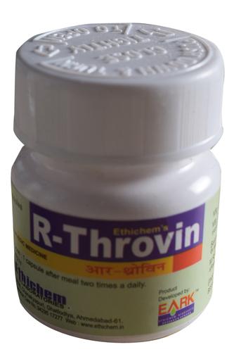 Ayurvedic R throvin Capsule