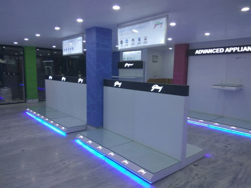 Retail showroom Display and layouts