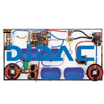 HGV Hydropneumatic Braking System Cutaway