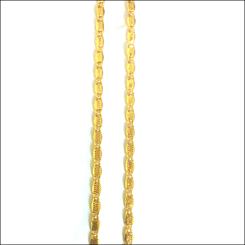 Gold Plated Mens Chain