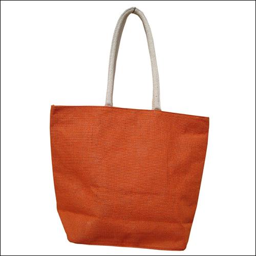 Jute Grocery Bags (orange)