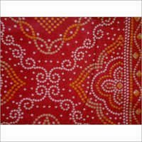 Printed Bandhani in Georgette Fabric