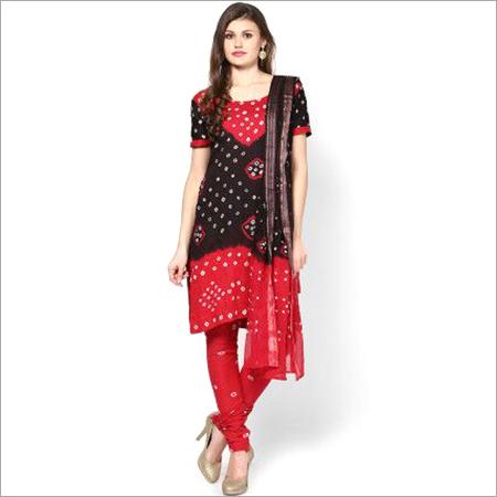 Bandhej Suits Dress Material