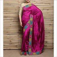 Kutch Embroidery Saree