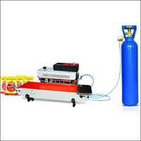 Continuous Pouch Sealer with Gas Flushing