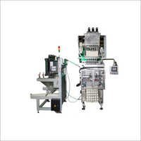 Automatic Paste Pouch Packing Machine