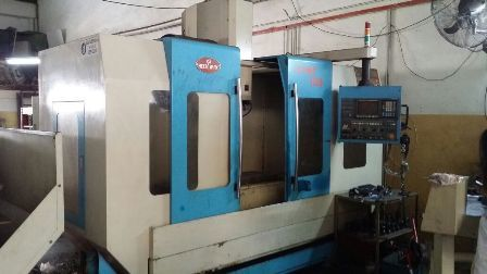 Vertical machining center. vmc .