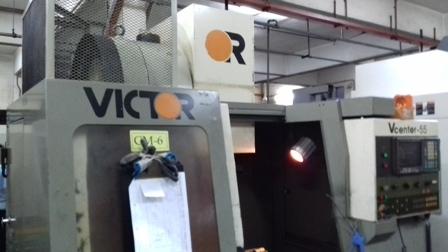 Vertical machining center vmc.