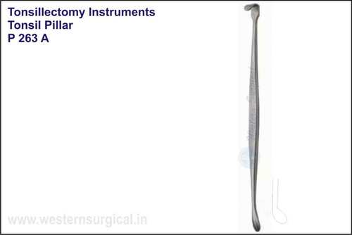 Tonsil Pillar Retractor & Dissector